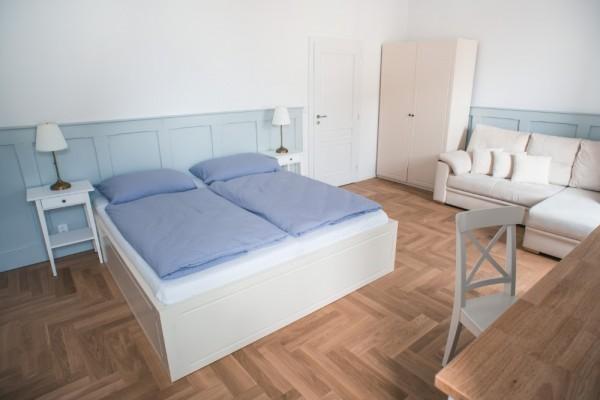 Pětilůžkový pokoj č. 1 v patře