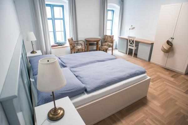 Čtyřlůžkový pokoj č. 3 v patře